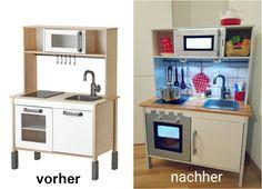 Ikea Duktig selbst gepimt, Ikea Hack, kinderküche, Kids Kitchen
