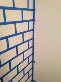For months I have been wanting to buy this brick pattern wallpaper from Sherwin Williams But I have put it off time and time again for multiple reasons. Mostly because there were more pressing thin… Fake Brick Wall, Painted Brick Walls, Brick Accent Walls, Faux Brick, Brick Wall Bedroom, Paint Brick, Brick Pattern Wallpaper, Brick Wallpaper, Diy Wall Painting
