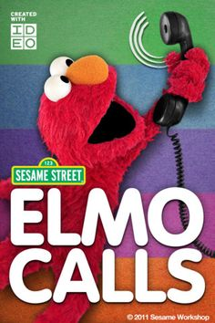 An app where Elmo calls your kid. Looks like a special-occasion savior to me!
