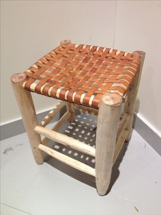 Chair Leather Wood