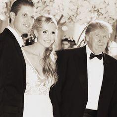 Eric Trump married Lara Lea Yanaska 2014 Eric Trump, Donald Trump Son, Donald Jr, Trump Wedding, Very Happy Birthday, My Father, Wedding Photos, Couple Photos, Instagram Posts