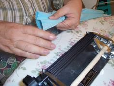 Work the pleats slowly and carefuly down the threads . Then continue rolling the fabric through a little at a time. Check both sides of th. Smocking, Dress Making, Card Holder, Sewing, Crochet, Fabric, Crafts, House, Embroidery