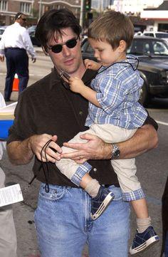 Thomas Gibson & his son - thomas-gibson photo