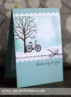Sheltering Tree stamp set from Stampin' Up! - Stampin' Up! Demonstrator Michelle Last