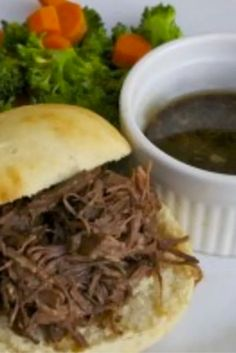 This Instant Pot version of our simple yet classic French Dip Sandwiches yields a mouthwateringly tender roast imbued with rosemary, and garlic! Easy and freezer friendly, this is a meal that is apt to become a fast favorite.