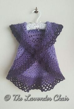 Ring Around the Rosie Vest - Free Crochet Pattern - The Lavender Chair 1