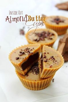 Title Almond Butter Cups
