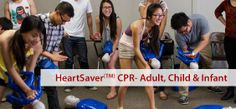 HeartSaver CPR / AED & First Aid For Adult, Child & Infant