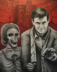 NORMAN BATES AND MOTHER