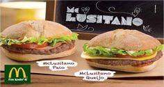 Para provar nos restaurantes McDonald's nacionais até 29 de abril:)