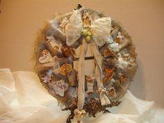 Από Σεμινάρια με θέμα:                                                                             Ένα Χριστουγεννιάτικο στεφάνι Vintage τολμά να κάνει την διάφορα!