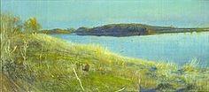 Paesaggio sul lago, Sartorio Giulio Aristide, pastello su carta,cm.285x600,1930 ca.