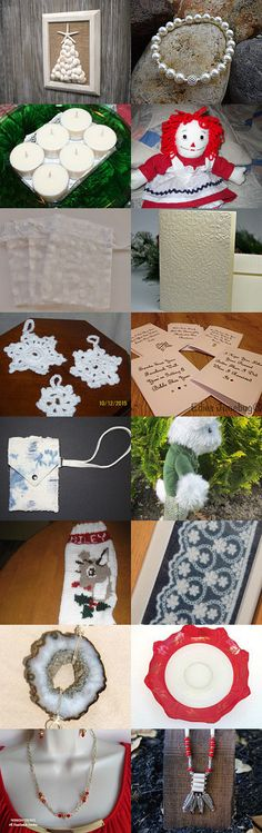 Friends R Us Team Sweet 16 Treasury - White Christmas by Dawn Muir-Frost on Etsy--Pinned with TreasuryPin.com
