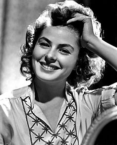 Stylish Ingrid Bergman: the anniversary. www.becausethestyle.com
