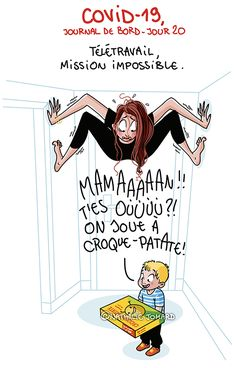 Illustration : Nathalie Jomard - grumeautique.blogspot.fr Humor Grafico, Jokes, Lol, Poster, Comics, My Love, Funny, Phrases, Funny Quotes