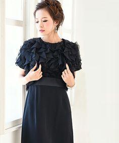 5b126828cc9d8 GIRL(ガール)の「フリルデザインボレロ ワンピースセットアップ結婚式ワンピース・パーティードレス(ドレス)」 - WEAR
