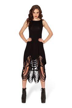 Shredder Dress by Black Milk Clothing