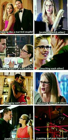 Just #Olicity loving each other <3