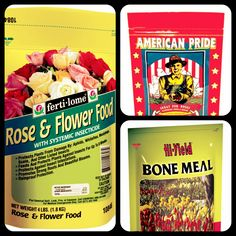 Rose Food: Do I Need To Feed My Roses?  Feed Roses every 2 weeks with Fertilome Rose Food, which feeds the plant, and kills the insects.  If organic gardening is your thing, use Fox Farm American Pride Super Premium Fertilizer, it is exceptional for roses.  In spring, apply Bone Meal (this will enhance color and quality of the blooms).  For more on Rose Care follow this link to visit Advice You Can Grow with, a blog from San Juan Nurseries, Inc.!