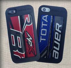 Hockey Stick iPhone 5 & 5s case - puck black