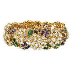 Van Cleef & Arpels 'Boule de Neige' Gem-Set Bracelet – Betteridge Z