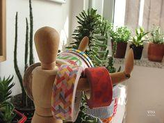D.I.Y: Mini cestinhas de tecido para mini suculentas! | por ViVá