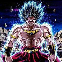 Broly Dbz Characters Dragon Ball Gt Goku Super Saiyan Anime Figurines