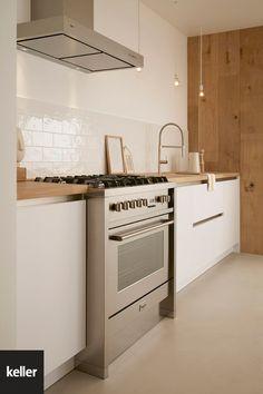Basic Kitchen, Kitchen Art, Kitchen Cabinets, Happy New Home, Best Crib, Lets Stay Home, Kitchen Gallery, Garden Living, Industrial House