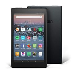 Fire HD 8 Tablet HD Display, 16 GB) - Black , Price: (as of - Details) Enjoy your entertainment with a fast GHz quad-core processor. Fire HD 8 offers more RAM than Fire 7 for faster perfor. Amazon Fire Tablet, Amazon Kindle Fire, Quad, Dolby Audio, Nintendo Switch, Gaming, Funny Christmas Gifts, Christmas Birthday, Christmas 2019