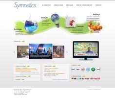Site da Symnetics (2010)