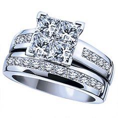 Custom Made Baguette Diamond Engagement Ring Rings White Rock on