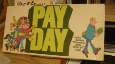 board games 1970s   Board Game : Pay Day 1970's Vintage   Board Games