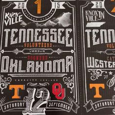 Tennessee Football season tickets