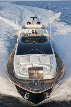 External view Riva Yacht - 92' Duchessa #yacht #luxury #ferretti #riva