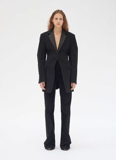 Tailored jacket in cotton moleskine Lookbook Mode, Fashion Lookbook, Celine, Tailored Jacket, Fashion Books, Types Of Fashion Styles, Get Dressed, Timeless Fashion, Style Me