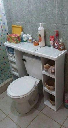 + Creative Apartment Bathroom Organization Makeup Storage Ideas - Make -. - + Creative Apartment Bathroom Organization Makeup Storage Ideas – Makeup Storage for Bathro - Diy Bathroom, Laundry Room Bathroom, Bathroom Furniture, Diy Furniture, Vanity Bathroom, Laundry Rooms, Furniture Storage, Simple Bathroom, Bathroom Ideas