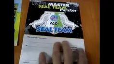 Master Seal Team. Kurs nurkowania dla dzieci. Mały komandos. Padi