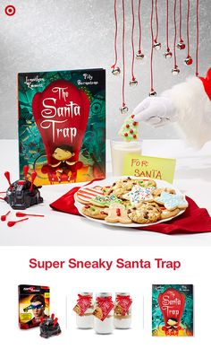 Catching Santa is no small task, so if your kids are obsessed with capturing the Christmas spirit, this gift idea has everything they need: Cookie mixes to make sweet treats that Santa can't resist, a hardcover copy of The Santa Trap, Night Vision goggles and a dart trap catch Santa in the act, if they can stay up late enough to see him, that is…