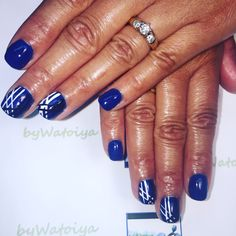 Wonderful Nail Creation byWatoiya #nails #naturalnails #dippowdersystem @kiaraskynails #takemetoparadise #nailart #freehandnailart #FeelTheWonder #byWatoiya #AnotherWatoiyaWonder
