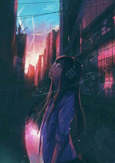 anime Delusions Of Lucidity: Photo Kawaii Anime Girl, Manga Kawaii, Cool Anime Girl, Anime Art Girl, Dark Anime, Animes Wallpapers, Cute Wallpapers, Wallpaper Wallpapers, Aesthetic Art