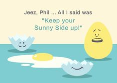 Customize the Cracked Sunny Funny Easter Egg Card template and make it match your brand!