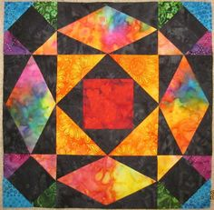 Free Quilt Pattern - Storm at Sea Block by Abby Josias Von Buskirk