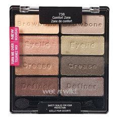 """Eyeshadow from Wet n Wild that comes in so many bright colors.  """"They're super affordable, come with three to eight colors in the palettes and are also available in singles. The color variety is awesome, ranging from very natural to bright and fun. They're 100% the best drugstore eyeshadows. They're so pigmented, soft, easy to blend, and easy to work with. Best of all, they're cruelty free!"""" —vanbanan  Get this palette from Amazon for $6.59."""
