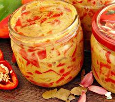 Papriky v horčicu