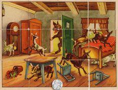 Der Wolf und die 7 Geißlein Bauklötze