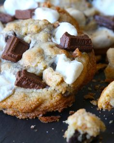 S'mores Cookies Recipe from Downtown Cookie Co. -- Sweet Paul My Happy Dish