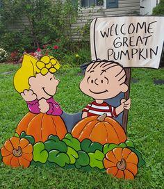 Peanuts Gang Halloween Train Charlie Brown Snoopy by HashtagArtz