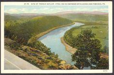 Wyalusing & Towanda-PA-French Asylum Site-Postcard   eBay