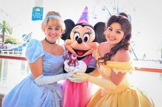 Cinderella, Minnie, Belle and Lotso | Flickr