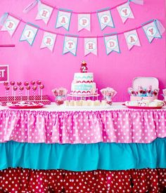 Pink Elmo Party